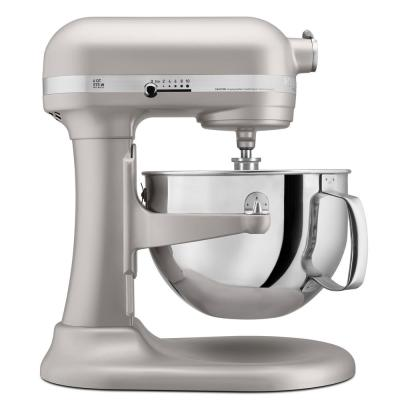 Professional 600 Series 6 Qt. 10-Speed Nickel Pearl Stand Mixer