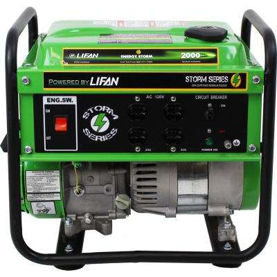 Energy Storm 1,600/1,400-Watt Gasoline Powered 98cc 3 MHP Portable Generator