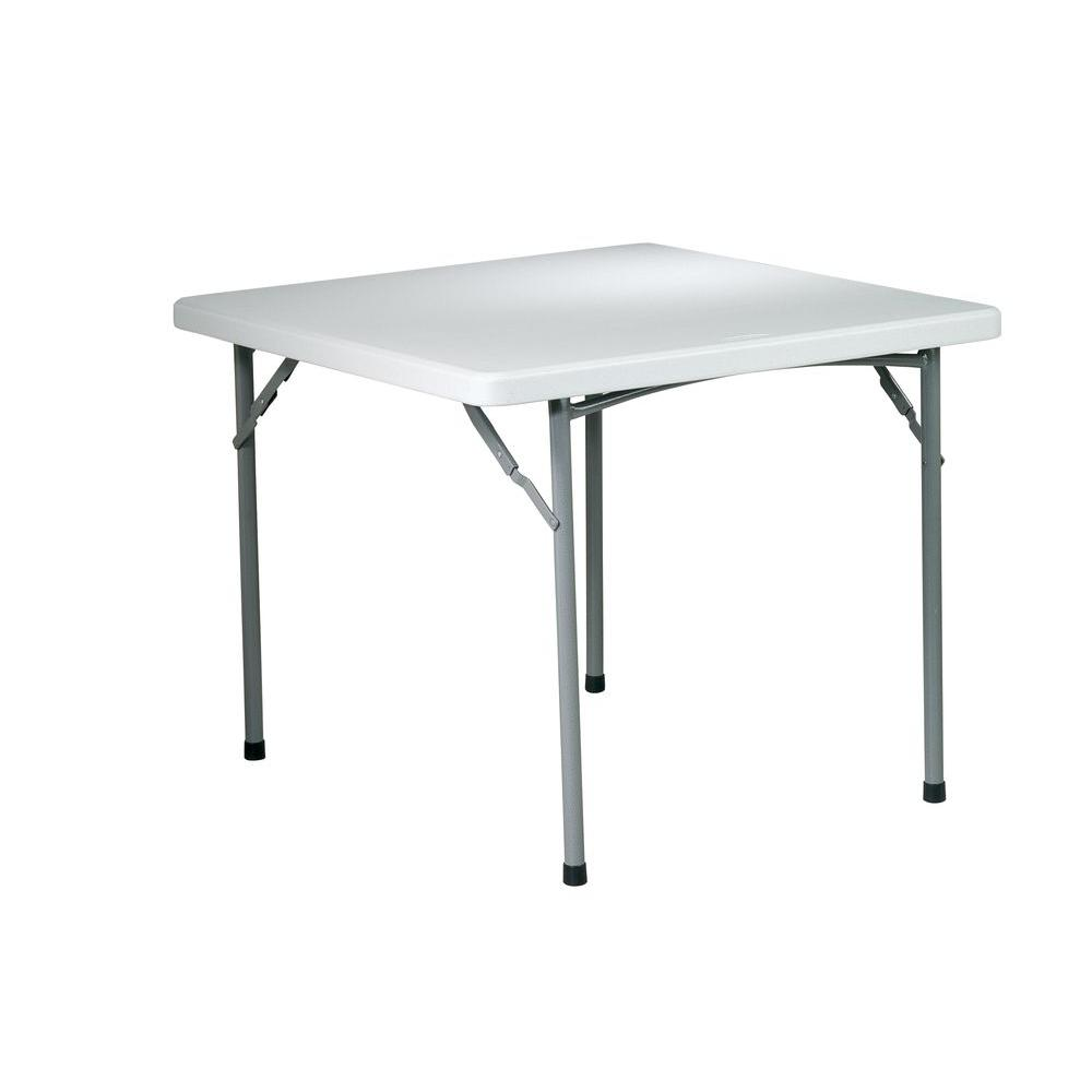 Work smart work smart white folding table bt36 the home for 52 folding table