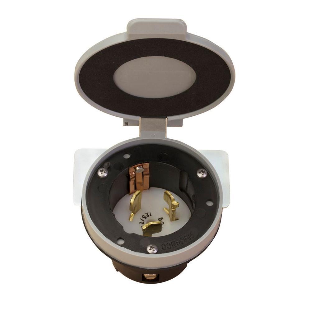 50 Amp Power Inlet Kit