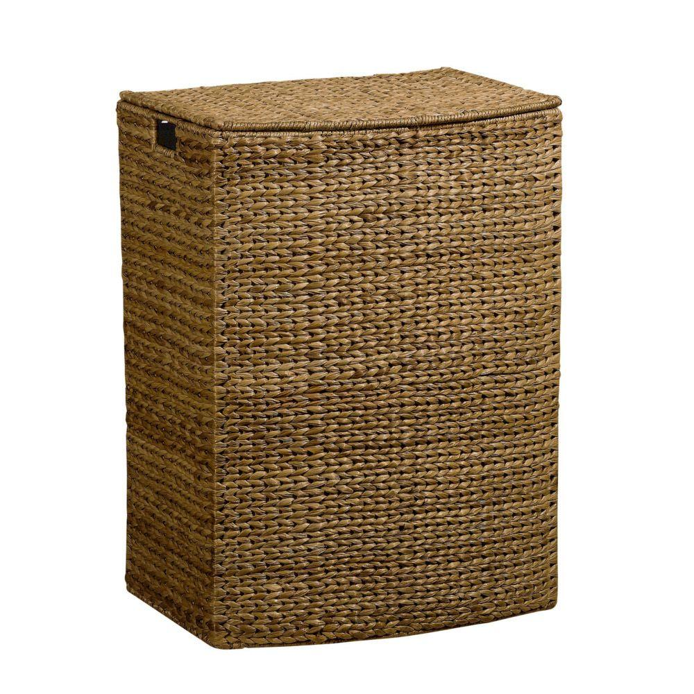 Home Decorators Collection Banana Leaf Brown Laundry Hamper