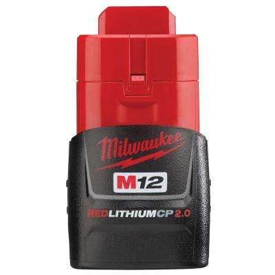 M12 12-Volt 2.0 Ah Lithium-Ion Compact Battery Pack