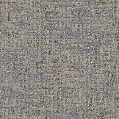 Carpet Sample - Tailored - Color Sand Dunes Pattern 8 in. x 8 in.