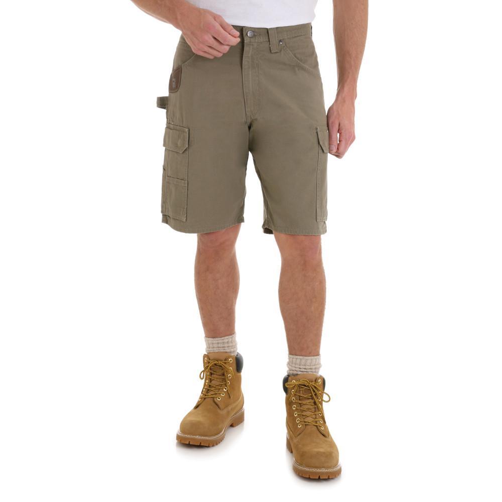 Men's Size 34 in. x 15 in. Bark Ranger Short