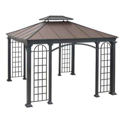 Summerville 10 ft. x 12 ft. Faux Copper Hard Top Gazebo