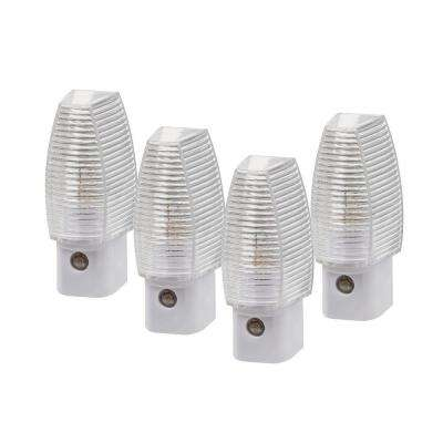 Automatic Faceted Night Lights (4-Pack)