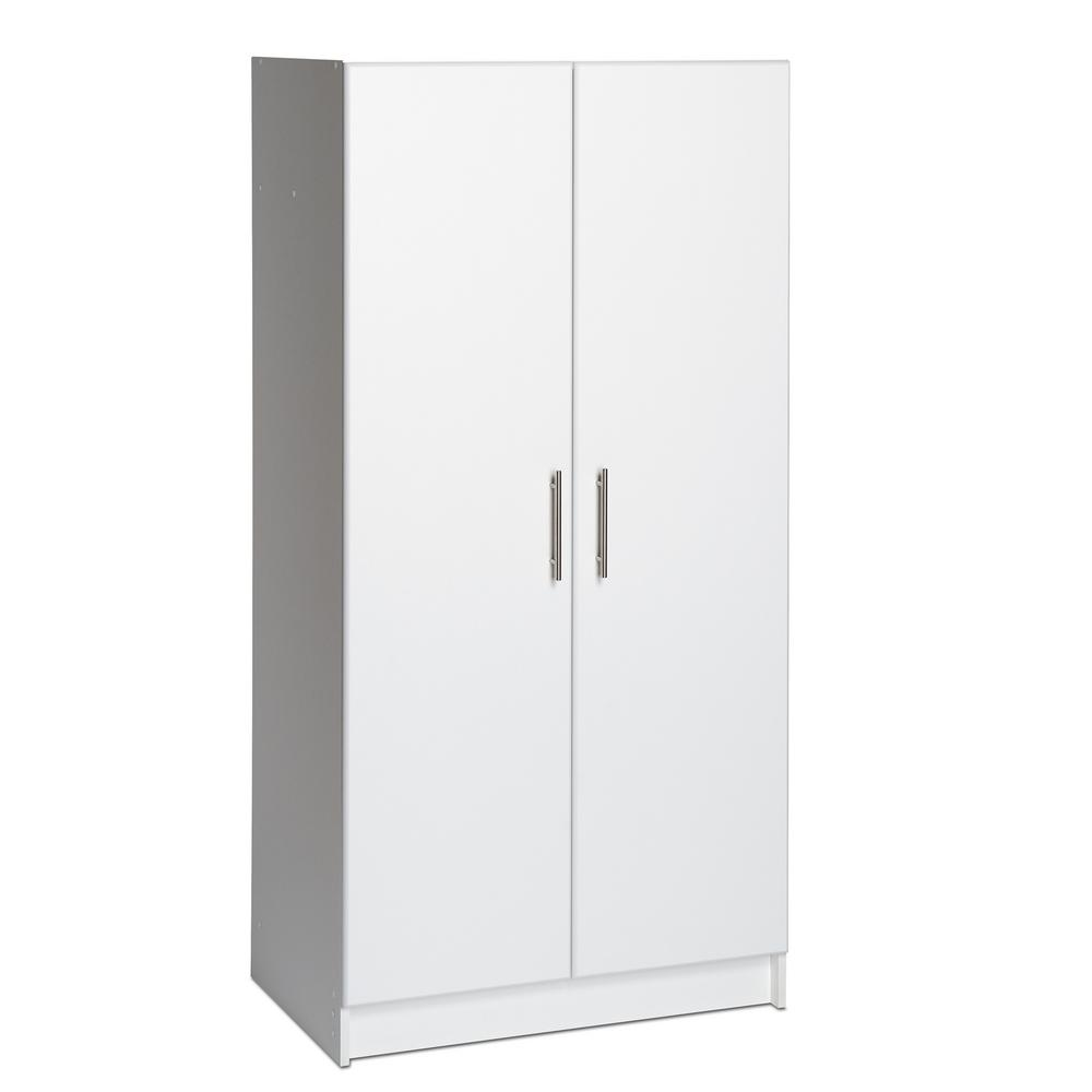 Elite Storage Cabinet  sc 1 st  The Home Depot & Prepac 32 in. Elite Storage Cabinet-WES-3264 - The Home Depot