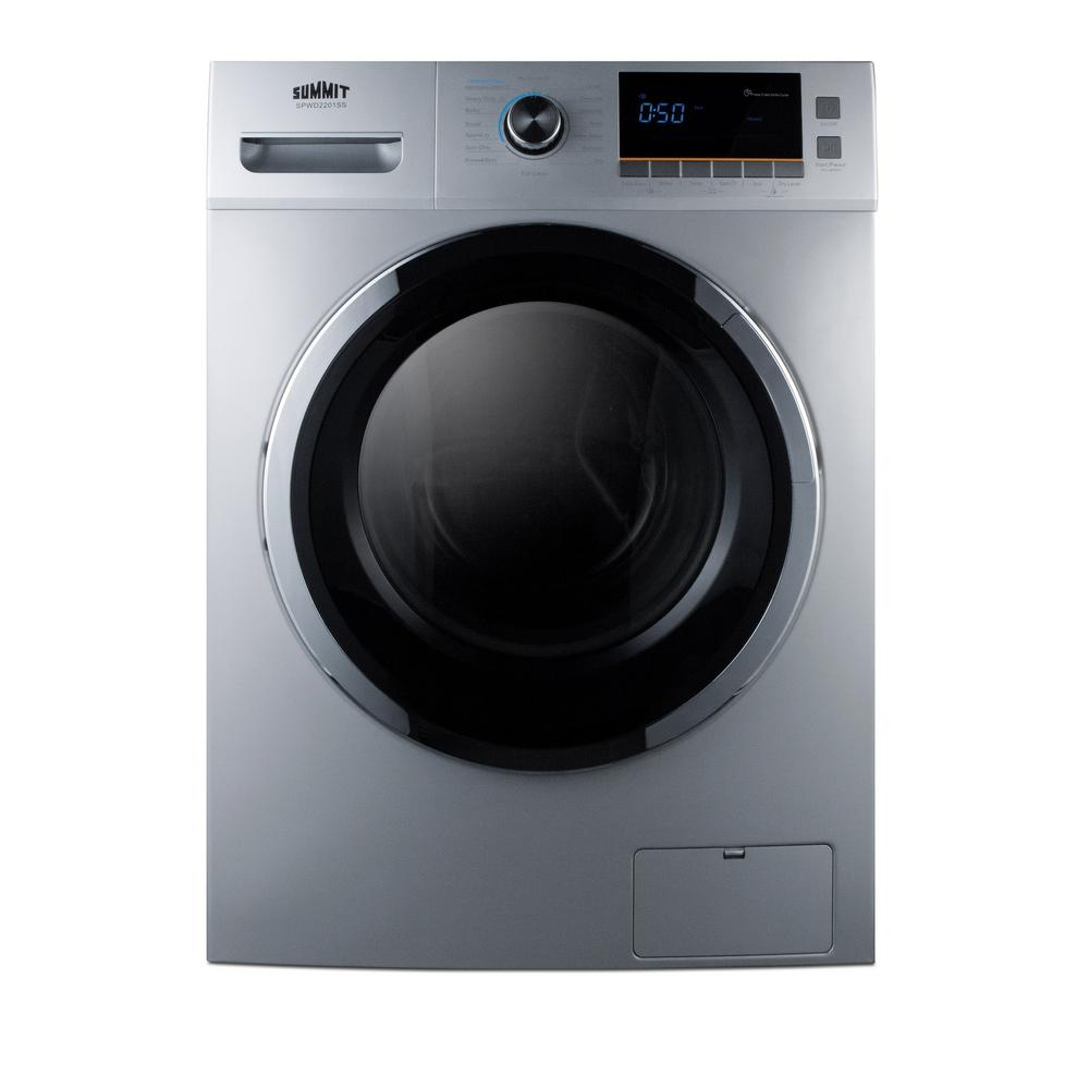 Lg 2 3 cu ft all in one washer and dryer - Summit 2 Cu Ft All In One Washer And Electric Ventless Dryer