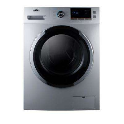 2 cu. ft. All-in-One Washer and Electric Ventless Dryer in Platinum