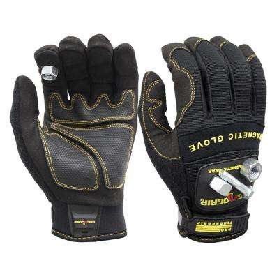 Pro FingerGrip Large Magnetic Glove with Touch-Screen Technology