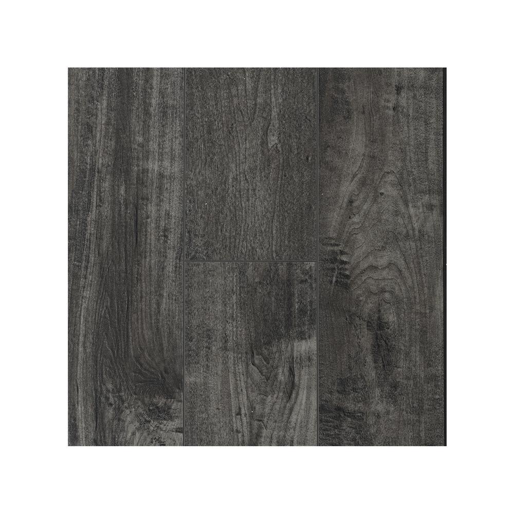 Take Home Sample - Slate WPC Vinyl Plank 6.42 in. W x 8 in. L
