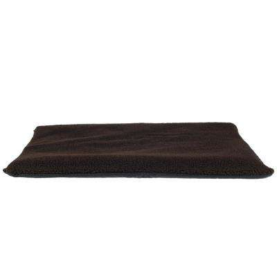 Small Chocolate Self-Warming Thermal Pet Crate Pad