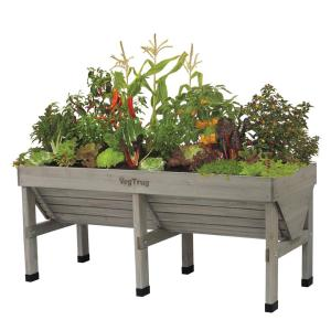 1.8 m Wooden Raised Bed Planter
