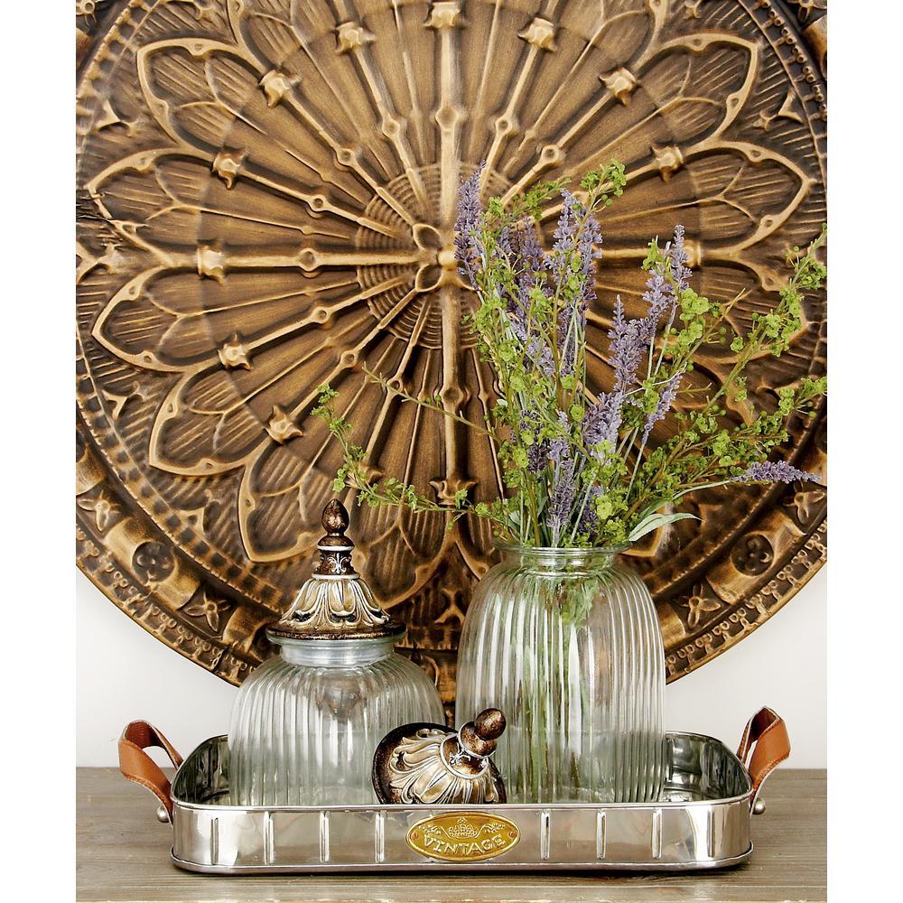 H Rectangular Metallic Stainless Steel Decorative Pan Tray