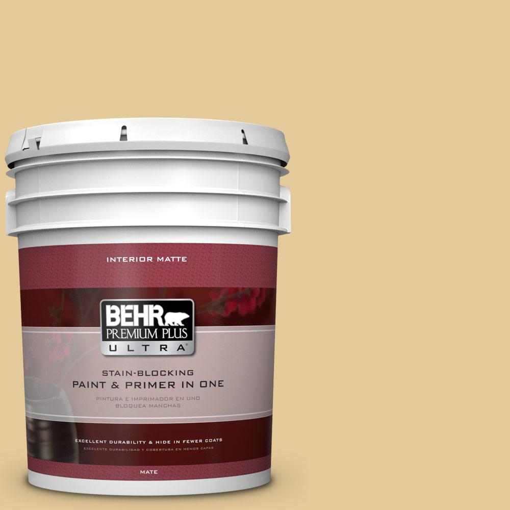5 gal. #M320-4 Abstract Matte Interior Paint