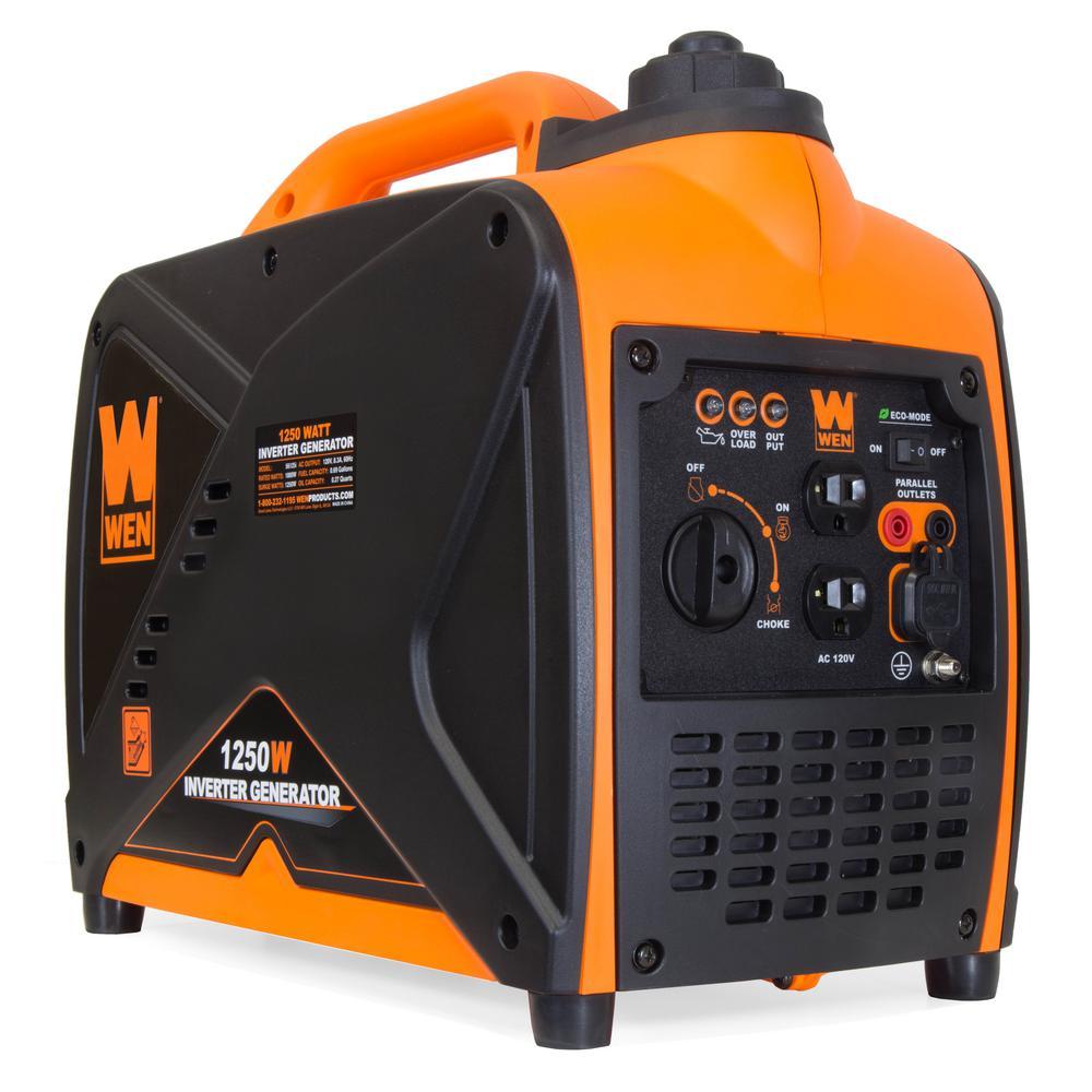 WEN 1250-Watt Gas-Powered Inverter Generator CARB Compliant