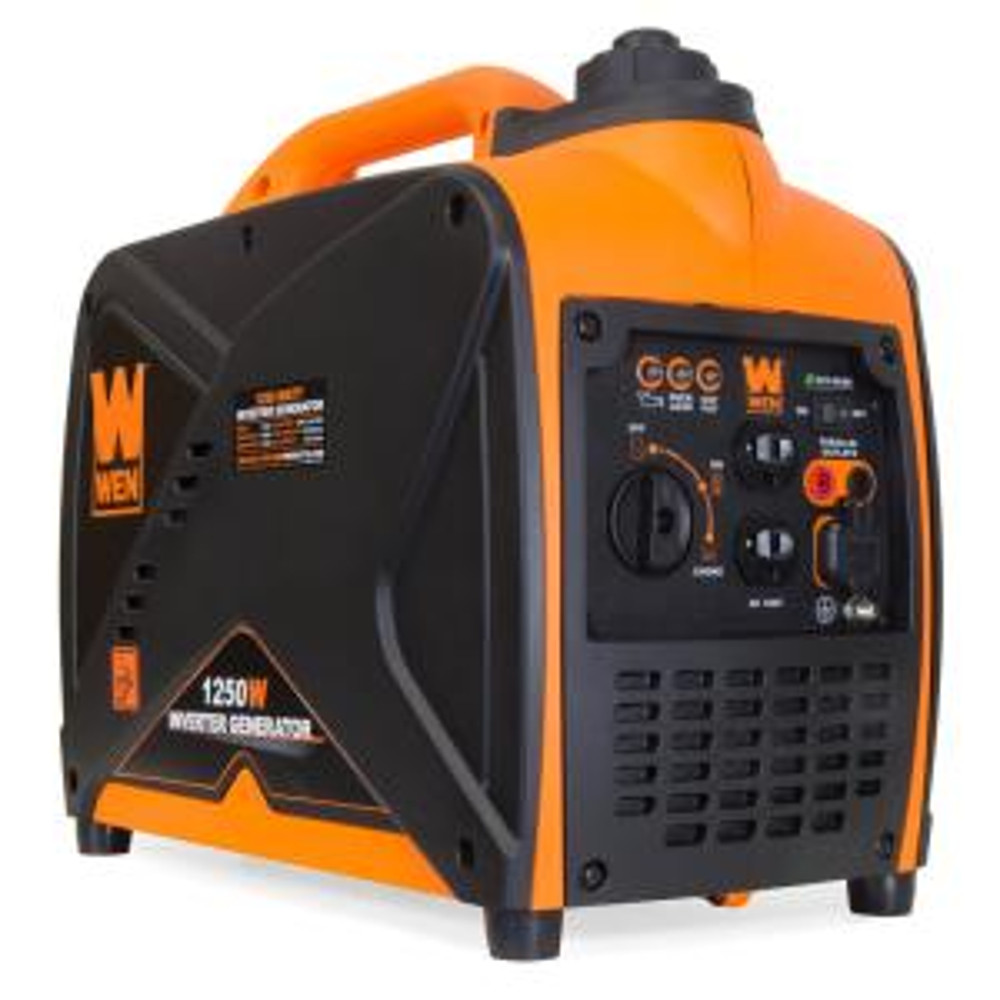 WEN 56203i Super Quiet 2000-Watt Portable Inverter Generator w//Fuel Shut Off Ultra Lightweight CARB Compliant