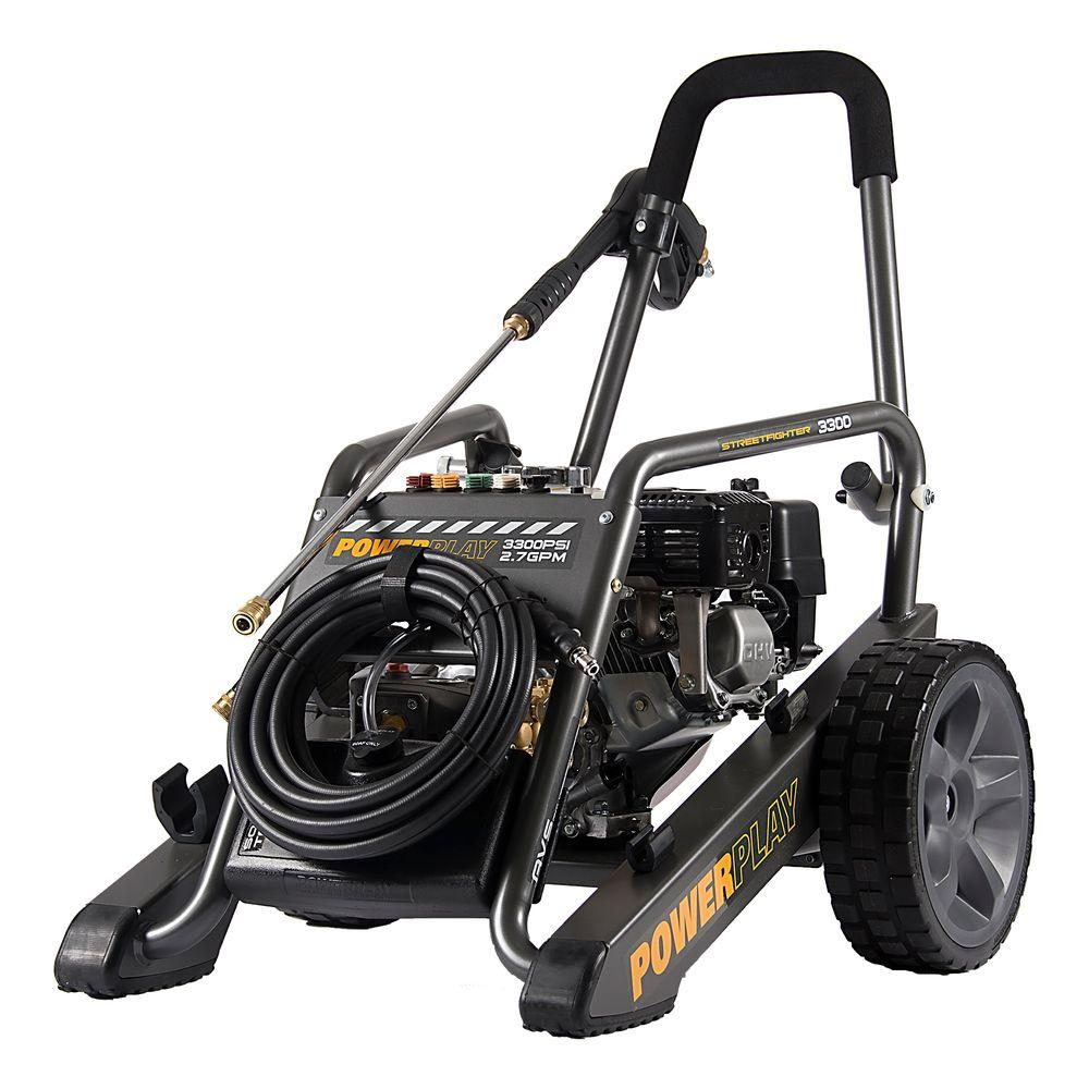 Powerplay Streetfighter Honda GX200 3,300-PSI 2.7 GPM Annovi Reverberi Axial Pump Gas Pressure Washer-DISCONTINUED