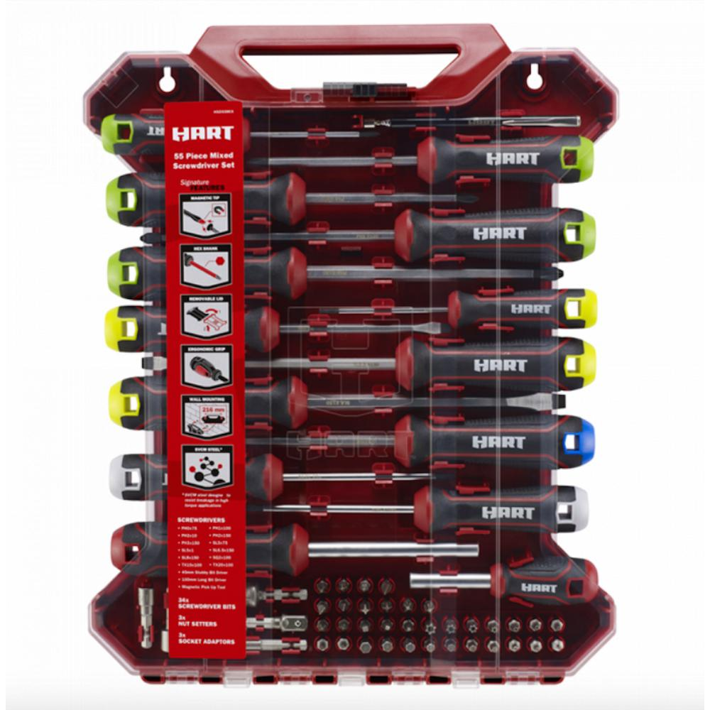 Mixed Screwdriver Set (55-Piece)
