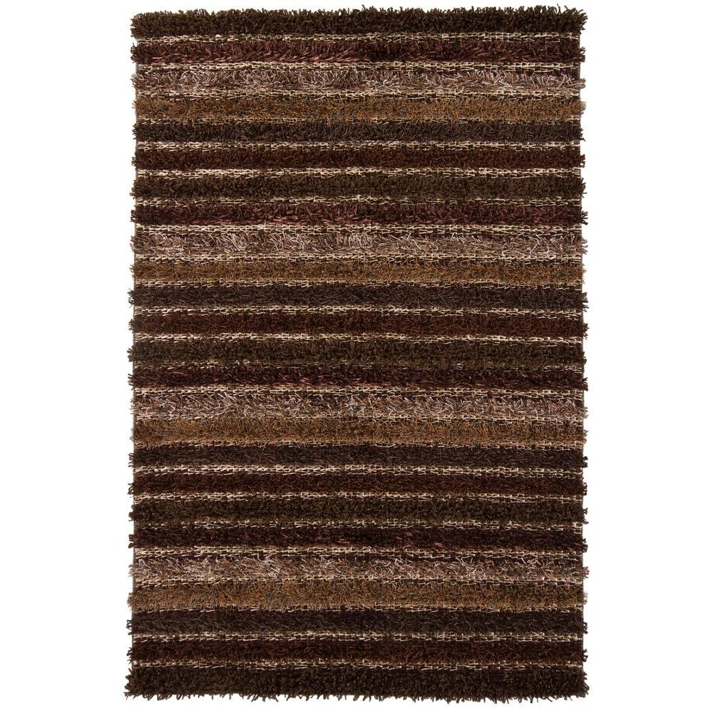 Lavasa Brown/Taupe/Tan 5 ft. x 7 ft. 6 in. Indoor Area