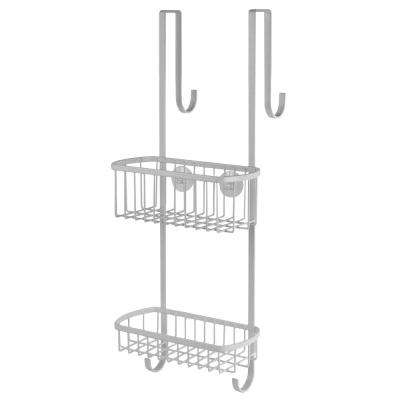 Over the Door Shower Caddy in White
