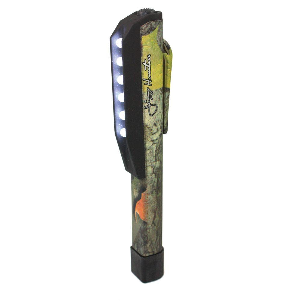 E-Z Red Jimmy Houston Series Camouflage LED Pocket Pen Light-DISCONTINUED