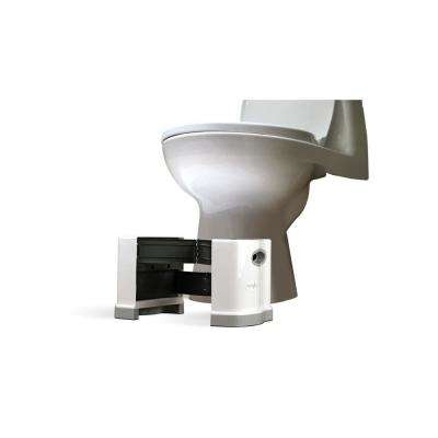 Only Extendable Multi-Purpose Toilet Stool 7 in. and 8 in. H Combo