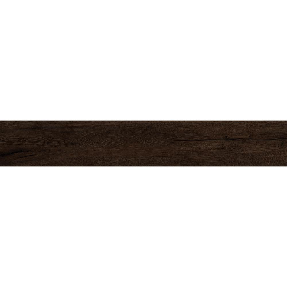Rathwood Honeck Umber 7.5 in. x 47 in. Porcelain Floor Tile (14.99 sq. ft. / carton)