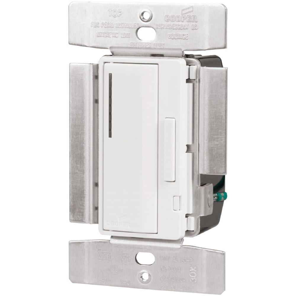 Accell 1,000-Watt Single Pole Smart Dimmer Switch, Beige