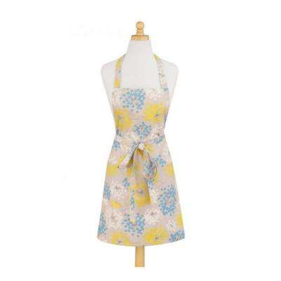 Ethereal Modern Print Cotton Butcher's Apron