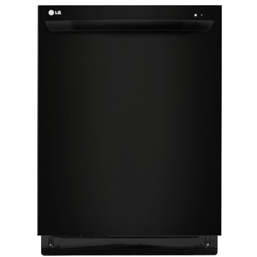 LG Electronics Top Control Dishwasher in Smooth Black with Stainless Steel Tub-DISCONTINUED