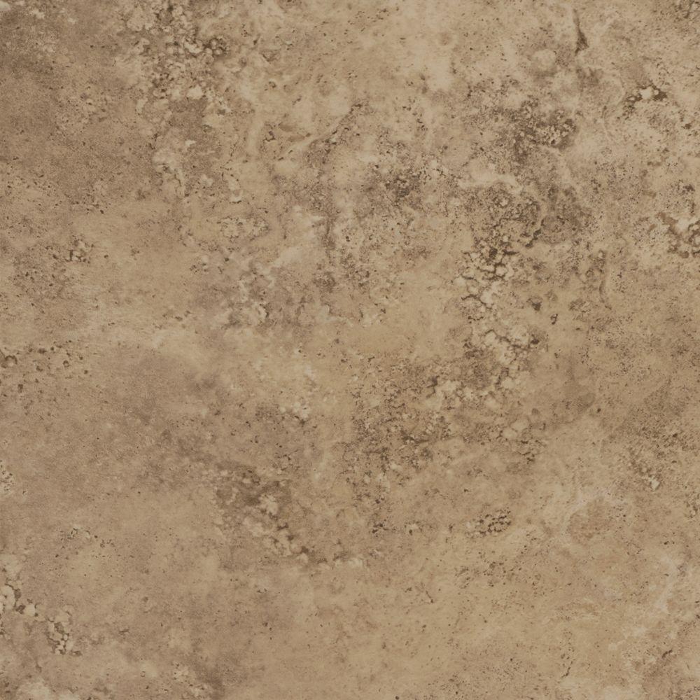 Daltile alessi noce 13 in x 13 in glazed porcelain floor and wall tile sq ft case - Home depot tile flooring tile ceramic ...