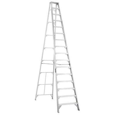 16 ft. Aluminum Step Ladder with 300 lbs. Load Capacity Type IA Duty Rating