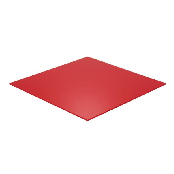 12 in. x 24 in. x 1/8 in. Thick Acrylic Red 2157 Sheet