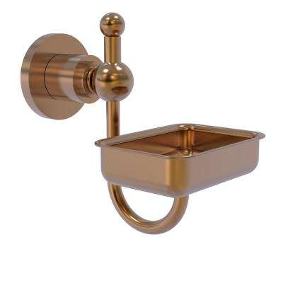 Astor Place Wall Mounted Soap Dish in Brushed Bronze