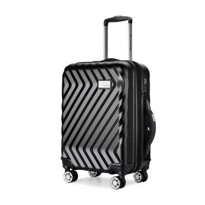 Luggage Tech Monaco Collection 20 in. Smart Luggage - Black