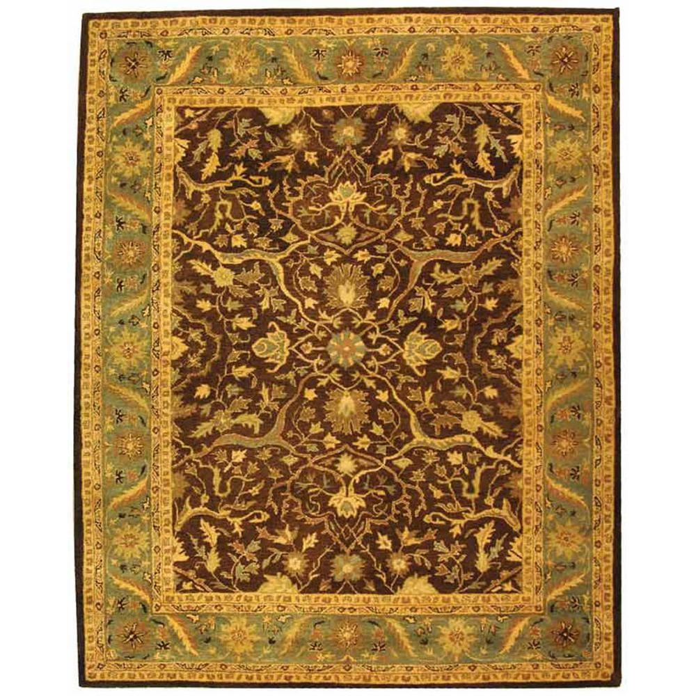 Antiquity Brown/Green 8 ft. 3 in. x 11 ft. Area Rug