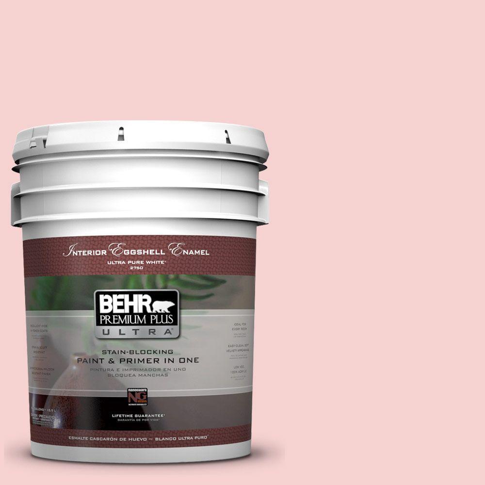 BEHR Premium Plus Ultra 5-gal. #P170-1 Youth Blush Eggshell Enamel Interior Paint
