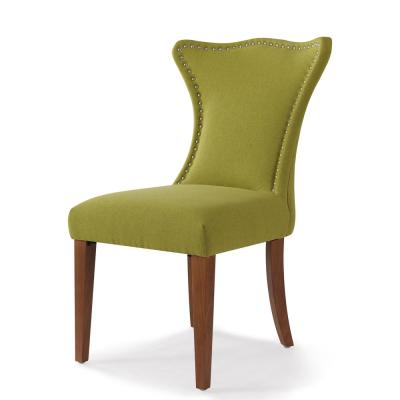 Lorena Moss Green Accent Parsons Chair