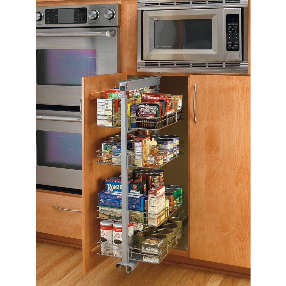 Rev-A-Shelf Premiere 14-3/4 in. Width Short Pull-Out Pantry