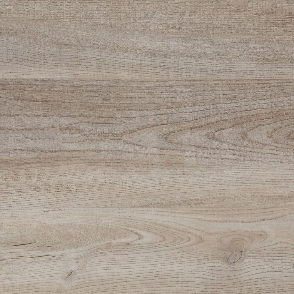 Crystal Oak 7.5 in. x 47.6 in. Luxury Vinyl Plank Flooring