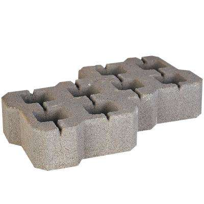19.29 in. L x 10.5 3 in. W x 3.94 in. H Grass Stone Pewter (48 Pieces/81 sq. ft./Pallet)
