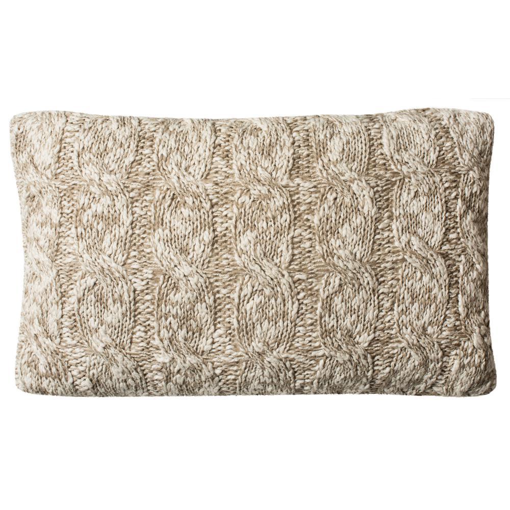 Safavieh Chunky Knit Printed Patterns Pillow PLS184A-1220