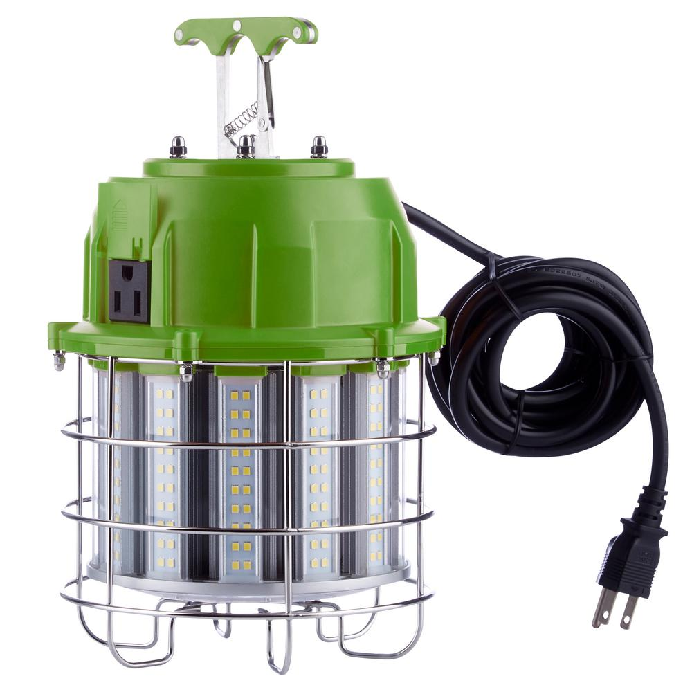 Portable Work Light 108 LED Bulbs Super Bright Garage Shop Stand Job Site Lights