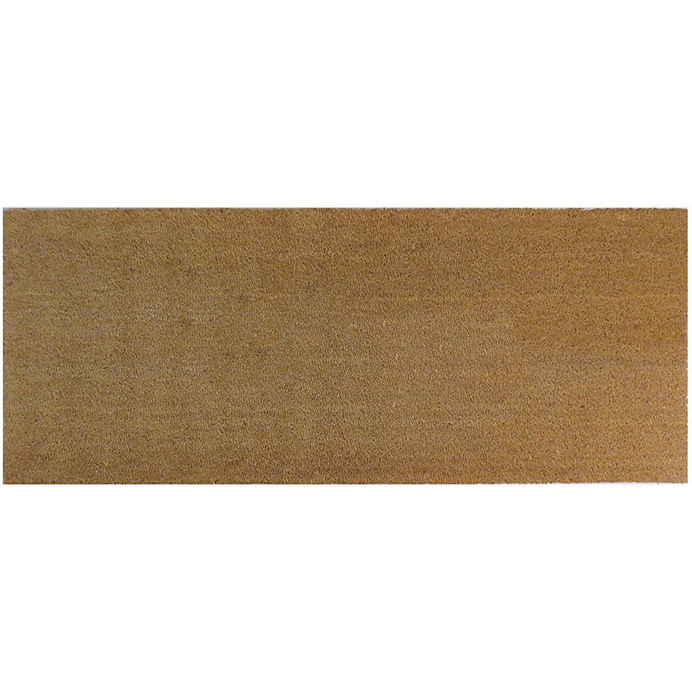 Natural Coir 60 in. x 24 in. Slip Resistant Coir Door Mat