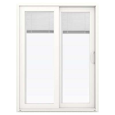 60 in x 80 in v 4500 white vinyl right hand full - Patio Single Door