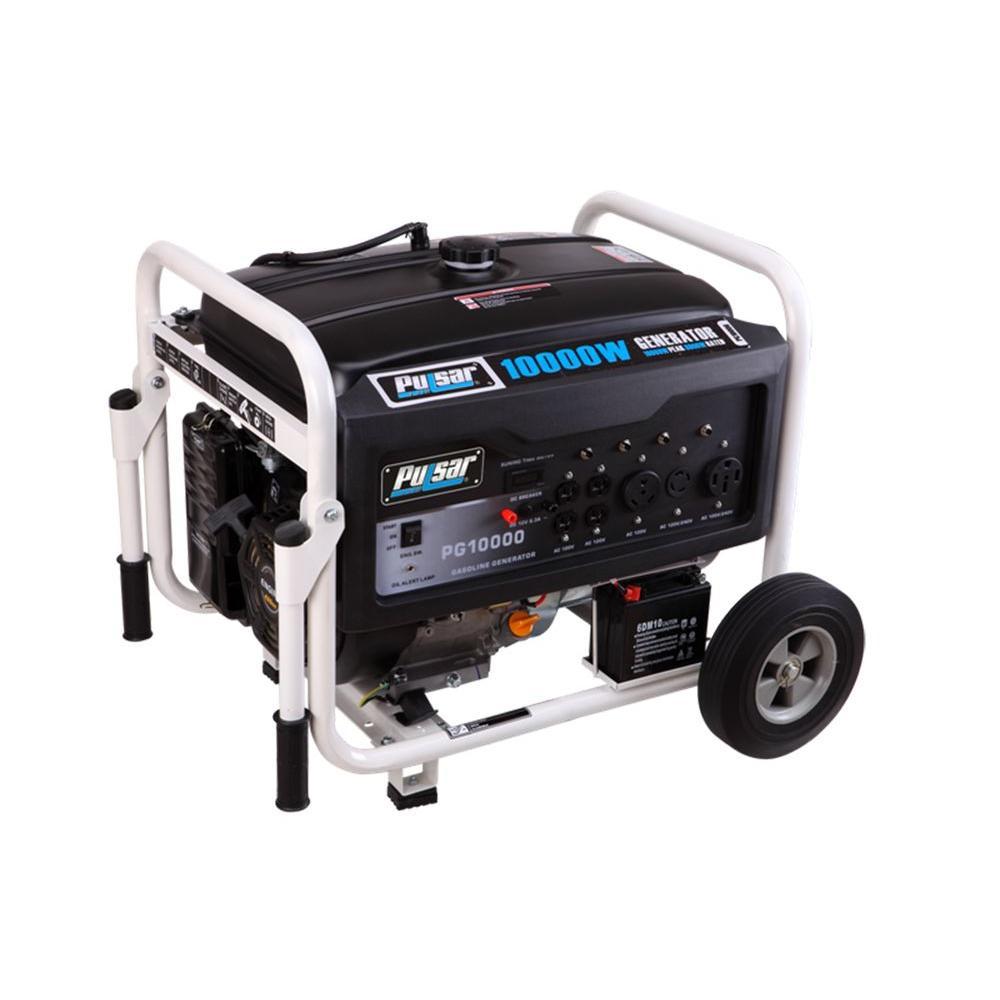 Pulsar 8,000/7,000-Watt Dual Fuel Gasoline/LPG Powered Electric Start Portable Generator by Pulsar