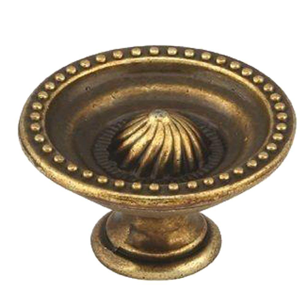 Hickory hardware 1 1 4 in brown windsor antique furniture knob