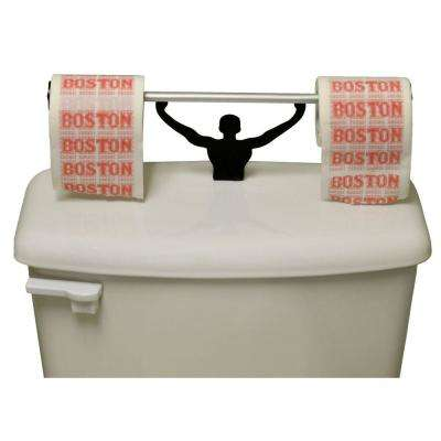 Boston Sucks Toilet Paper in Multi-Color with Strong Man Holder Gift Set