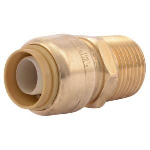 1/2 in. Push-to-Connect x MIP Brass Adapter Fitting